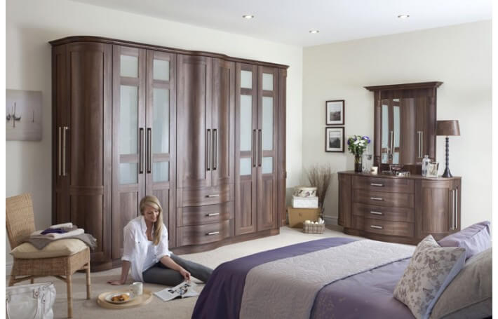 Dark Walnut Bedroom