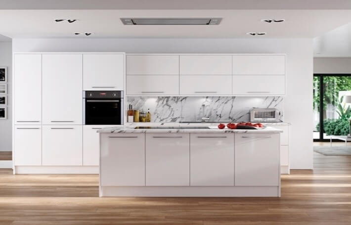 Hameldown White Kitchen