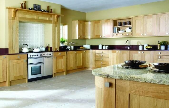 Lansdowne Natural Oak Kitchen