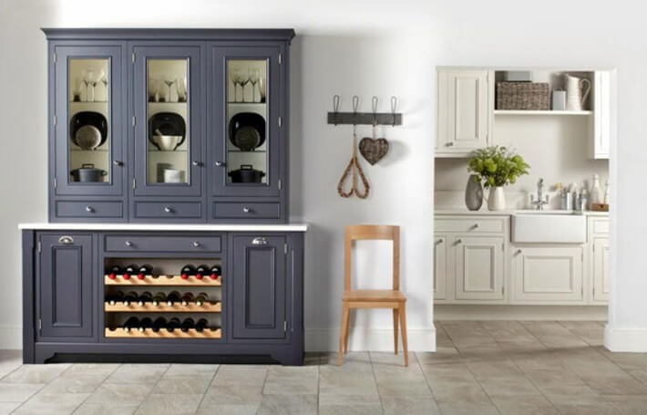 Salcombe Painted Ash Kitchen