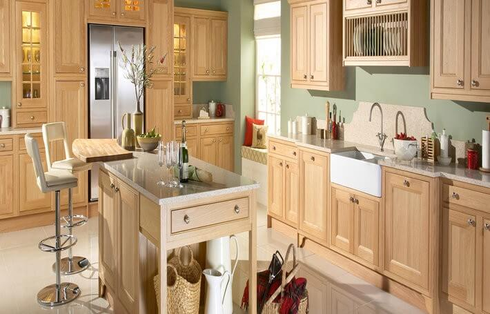 Tetbury Natural Oak Kitchen