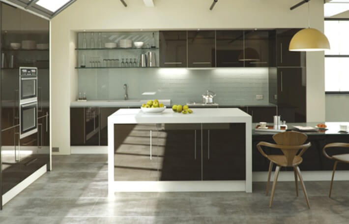 Ultragloss Chocolate Kitchen