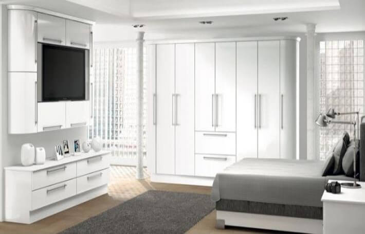 White Gloss Bedroom