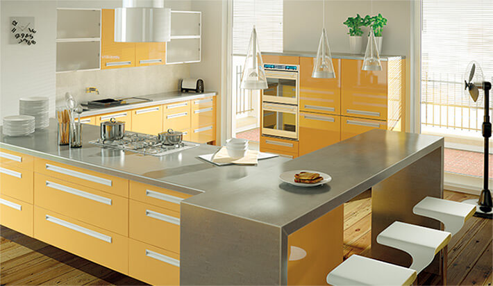 Zurfiz Ultragloss Saffron Kitchen