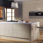 ZURFIZ ULTRAGLOSS LIMESTONE kitchen Stoke