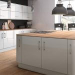 ZURFIZ ULTRAGLOSS LIGHT GREY kitchen Stoke