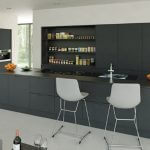 Bella Integra Matt Graphite kitchen Stoke