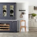 SALCOMBE PAINTED ASH kitchen Stoke