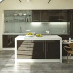 ULTRAGLOSS CHOCOLATE kitchen Stoke