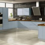 WELFORD SKY BLUE kitchen Stoke
