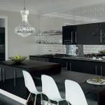 ZURFIZ ULTRAGLOSS METALLIC ANTHRACITE kitchen Stoke