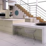 ZURFIZ ULTRAGLOSS METALLIC CHAMPAGNE kitchen Stoke